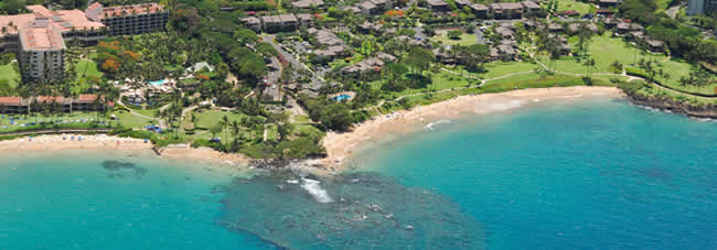 Maui Hawaii - Aerial View